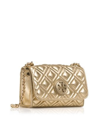 75a9ec892f1 MARION QUILTED METALLIC SHRUNKEN SHOULDER BAG - undefined
