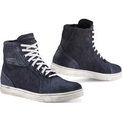Photo of Tcx Street Ace Denim Motorcycle Shoes Blue 45 Tcx