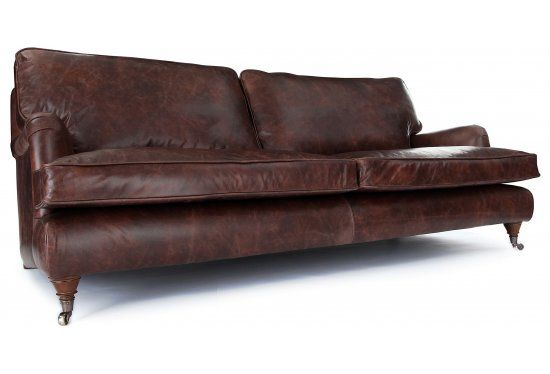 This Vintage Look Leather Sofa From Oldbootcompany Com Is Gorgeous
