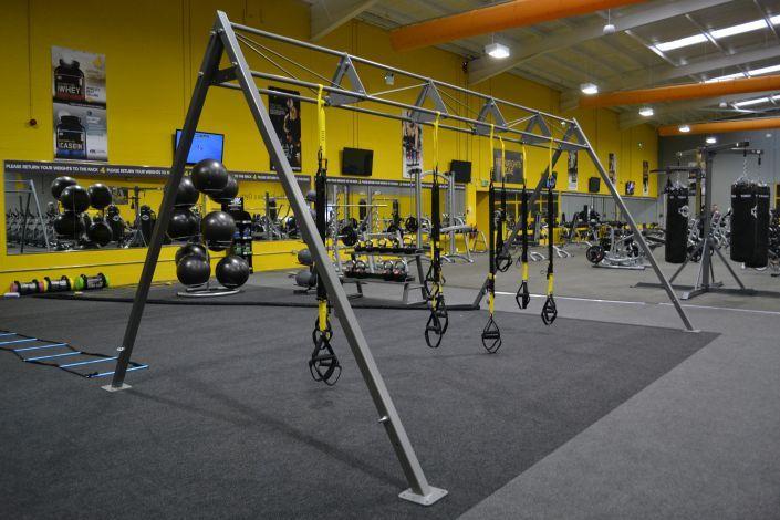 Hull Functional Training Area Gym Setup Gym Interior At Home Gym