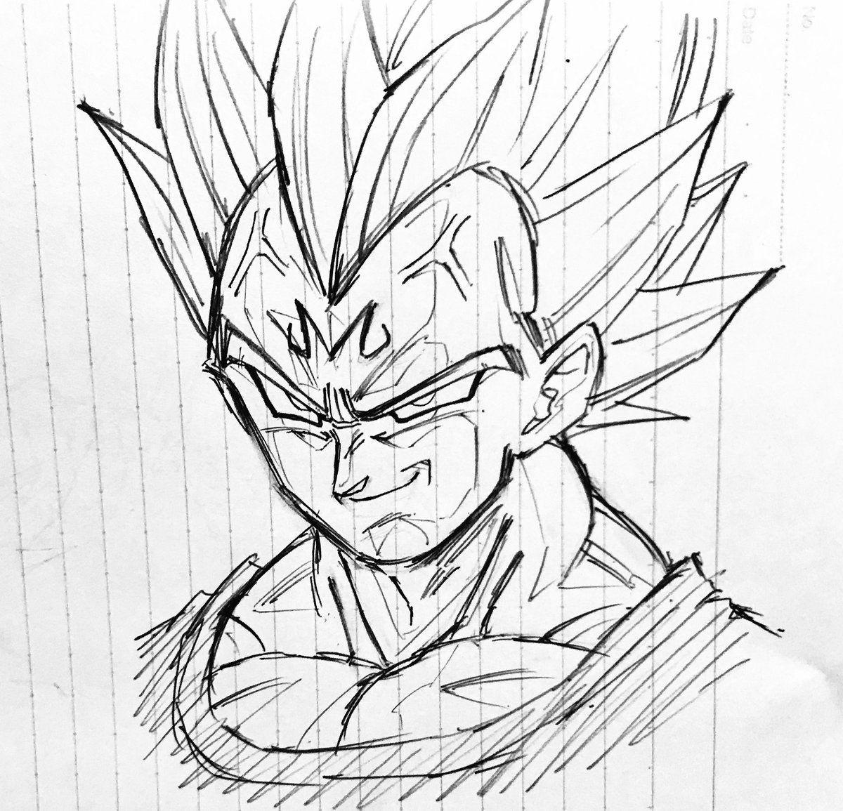 Majin Vegeta Ssj2 Desenho De Anime Desenhos De Anime Goku Desenho