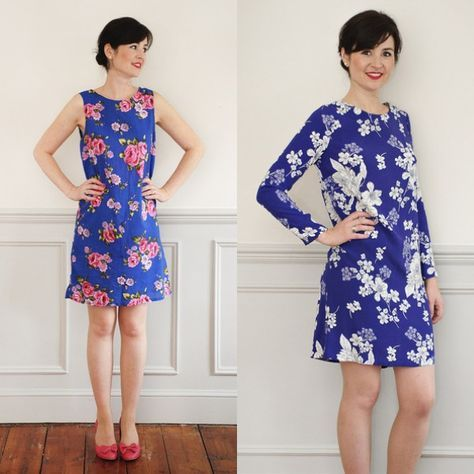 Sew Over It shift dress free pattern | naaien | Pinterest | See the ...