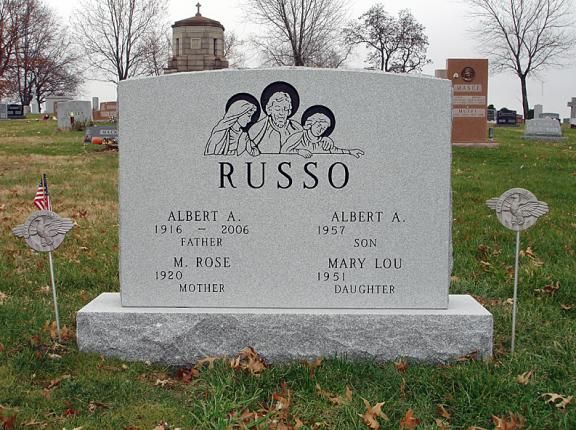 Upright Headstone For Father Mother Son Daughter Monuments
