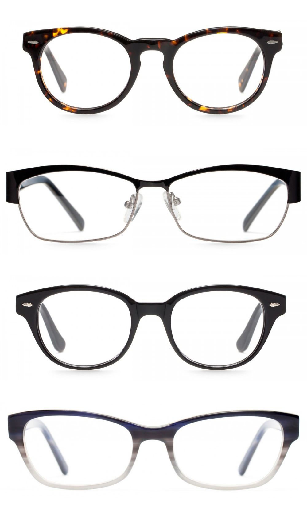 Eyeglass Frames For A Square Face : The perfect glasses for square faces felix + iris ...