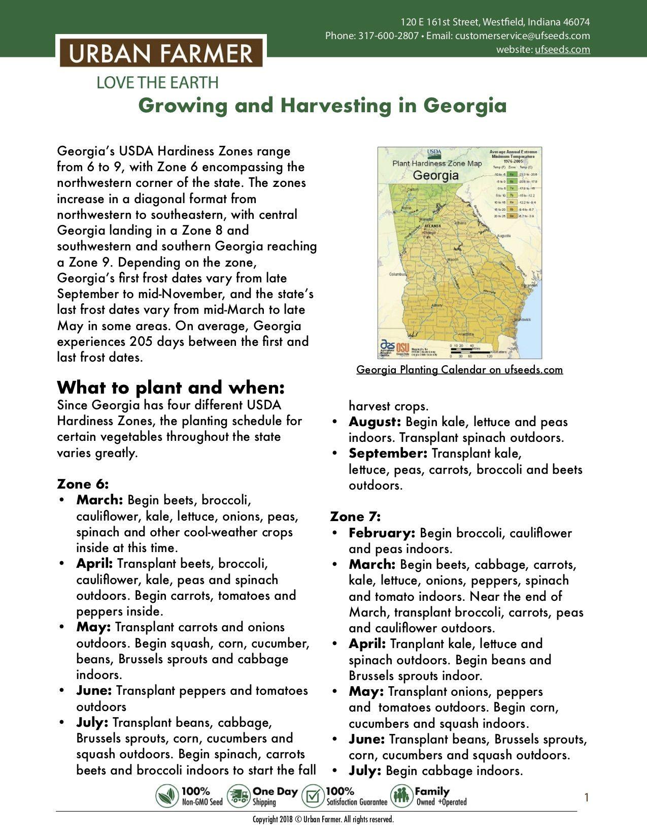 c6c841146b94675e2cfed99e0fda713d - What Zone Is Georgia For Gardening