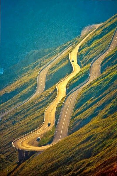 Furka Pass Alps, Switzerland