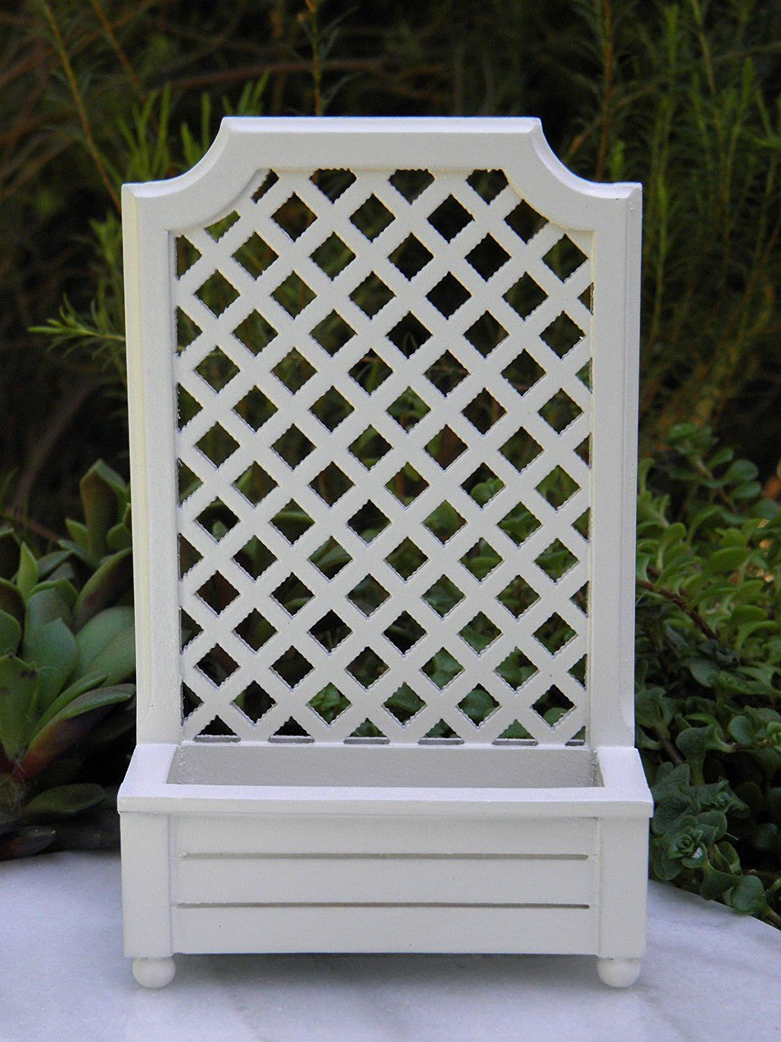 Comfortable Miniature Dollhouse Fairy Garden Accessories Woodtrellis Planter Box Sports Miniature Dollhouse Fairy Garden Accessories Wood Fairy Garden Planter Boxes