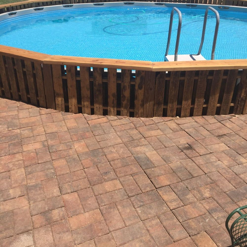 A Husband And Wife Update Their Backyard. First They Buy A Pool, But Then  They Do This!