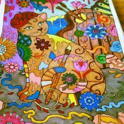 Creative Haven Cats Coloring Book Marjorie Sarnat 9780486789644 Books