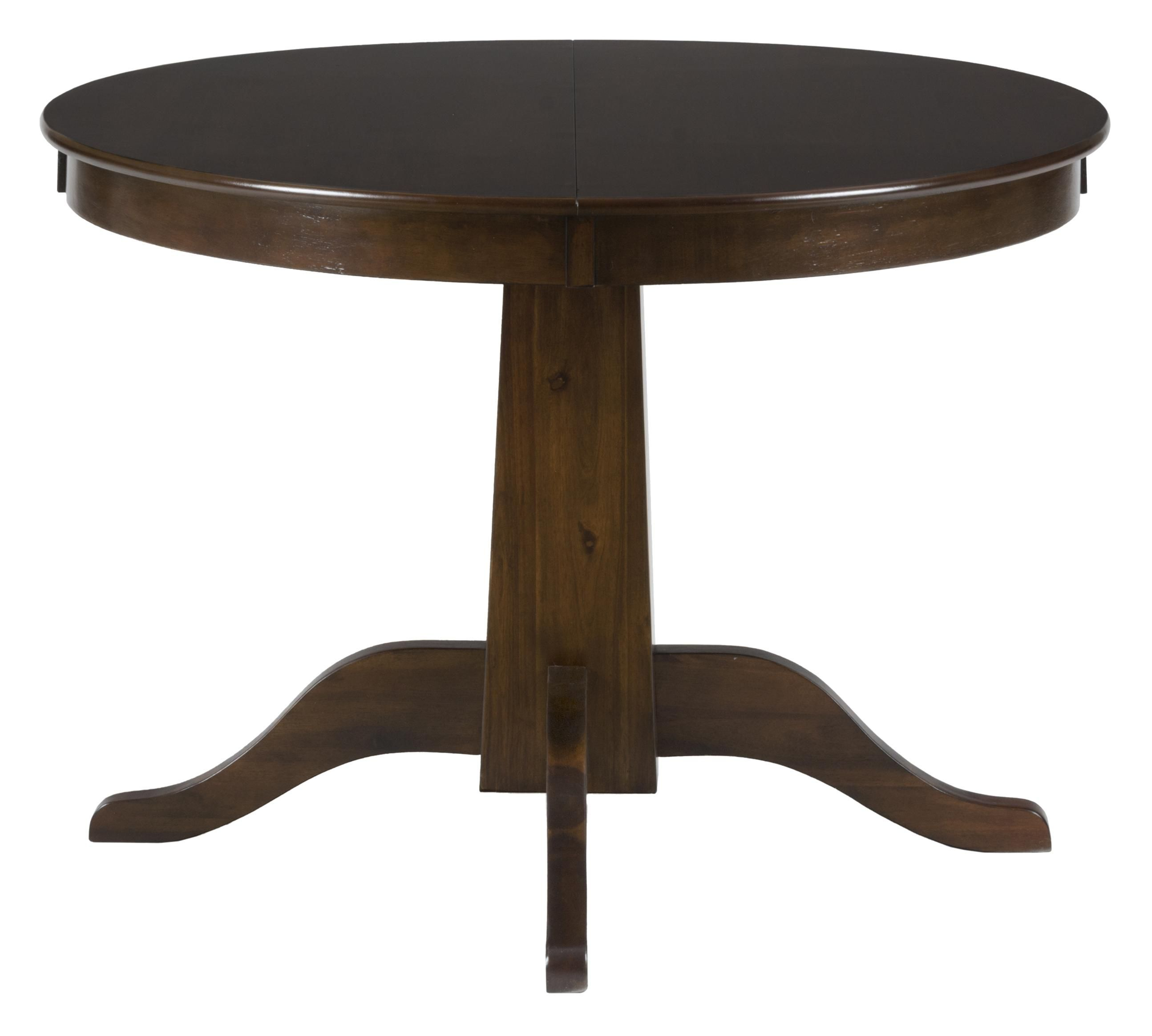 Taylor Cherry Round to Oval Table by Jofran   Oval table ...