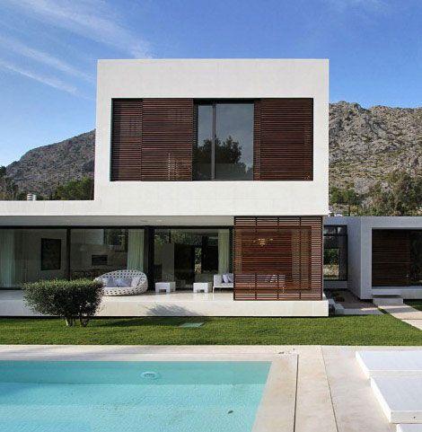 contemporary residence mallorca