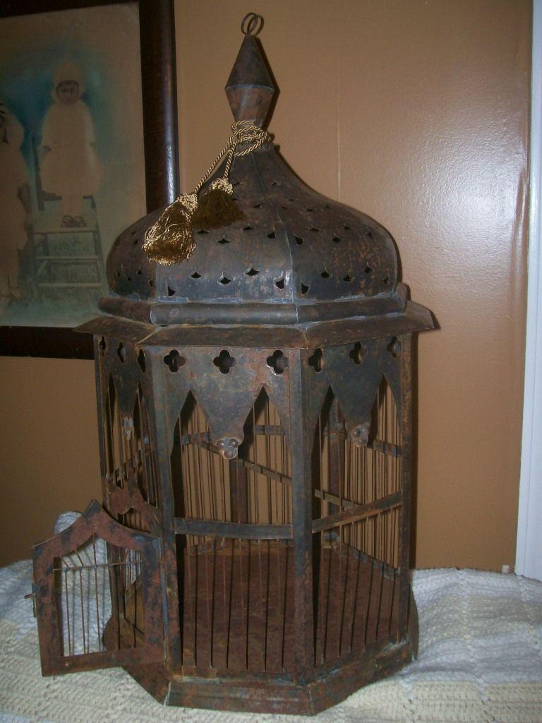 Vintage Birdcage Antique Bird Cages Bird Cage
