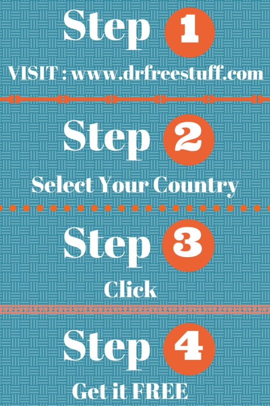 4 Easy Steps free freestuff drfreestuff usa