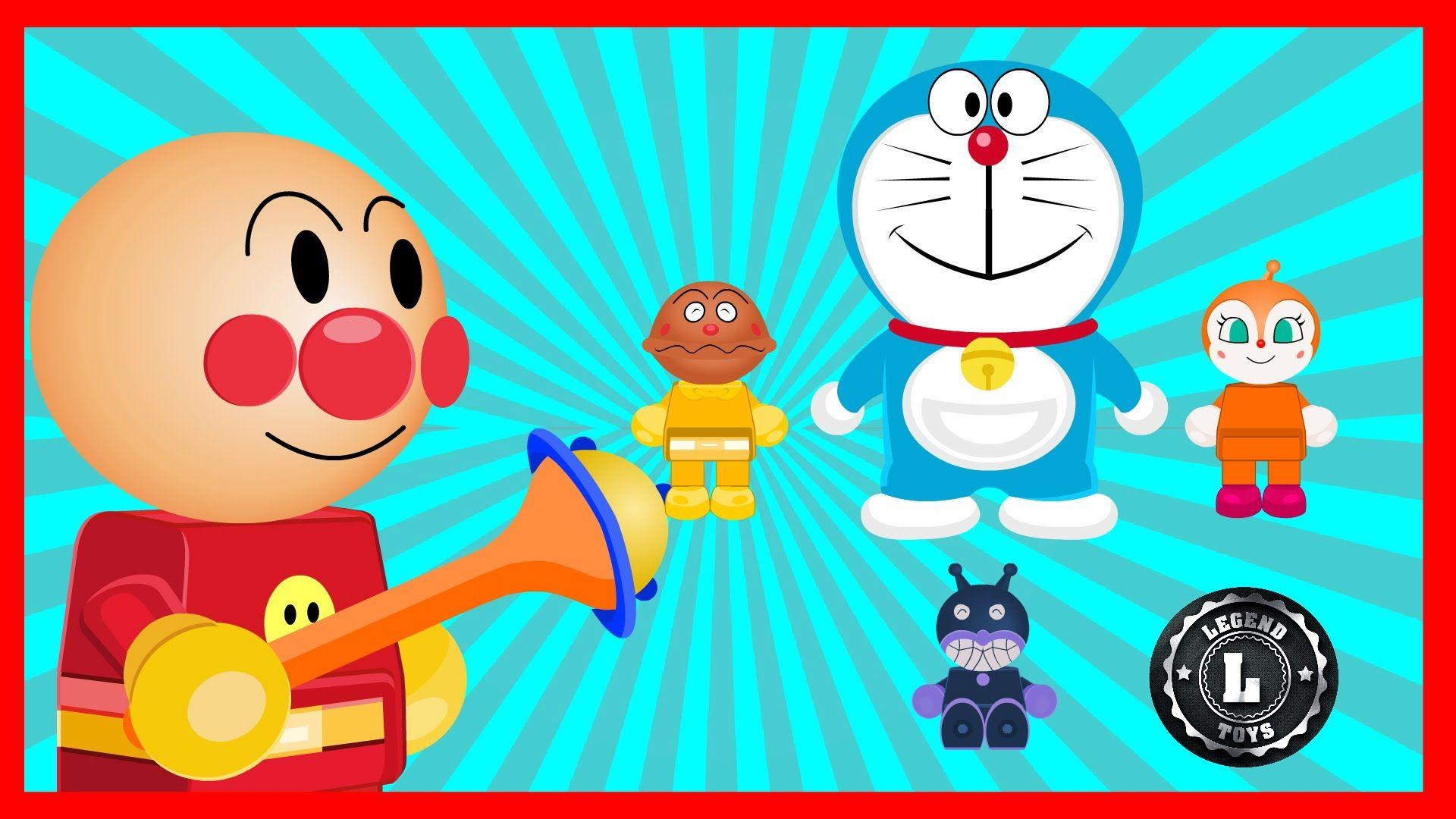 Anpanman Toys Anime Episode 68 Doraemon Small Light