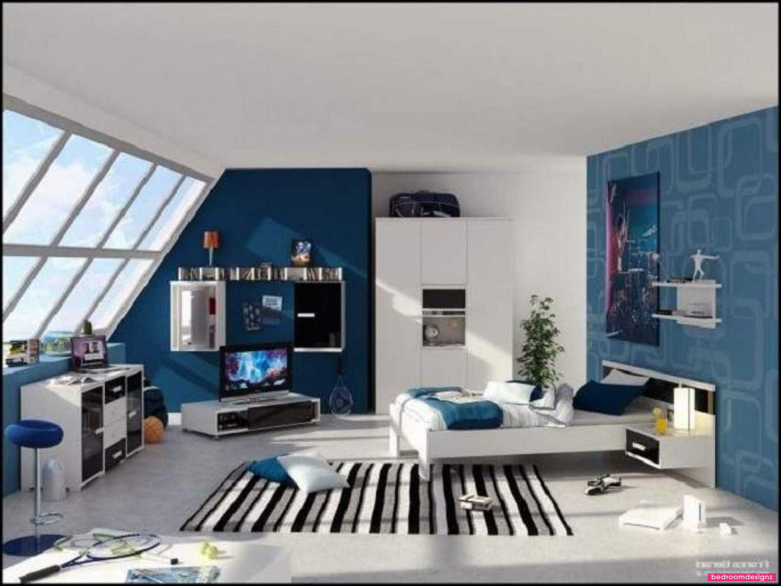 Designs Age S Dzqxhcom Blue Bedroom Layout Concepts Http Www Bedroomdesignz