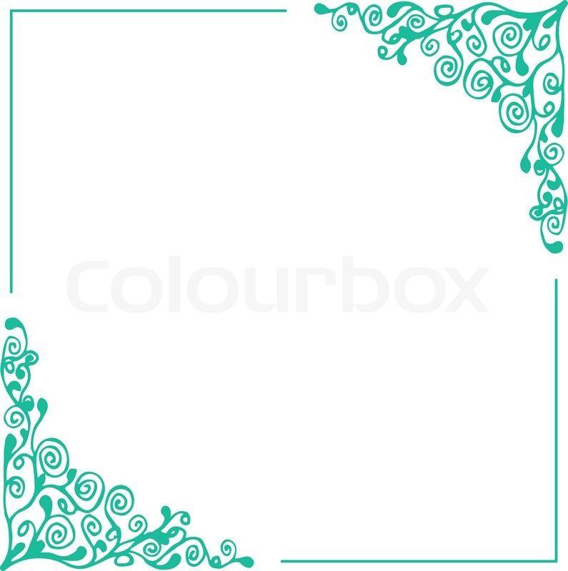 Skizzieren, teil des, umreißen | Stock-Vektor | Colourbox on ...