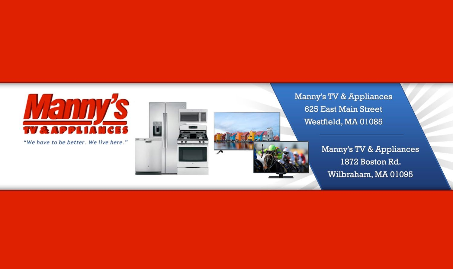 TV and Appliance Store Western Massachusetts http://bit.ly/TV-Appliance-Store-Western-Mass Your trusted TV and Appliance Store serving all of Western Massach...