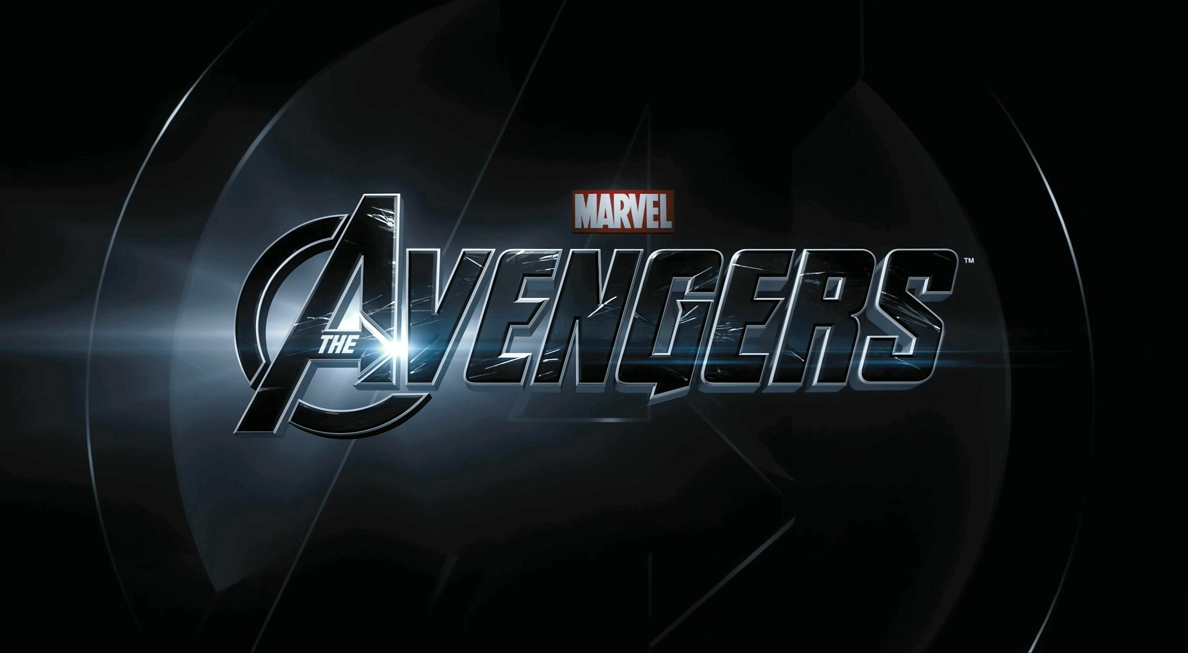 The Avengers movie logo. Movie Wallpapers. HD Wallpaper