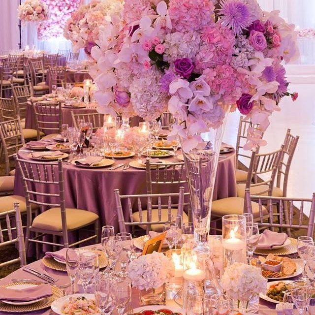 Basking In The Pink And Lilac Hues Of This @r5events