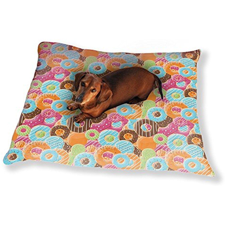 Donut Paradise Dog Pillow Luxury Dog / Cat Pet Bed You