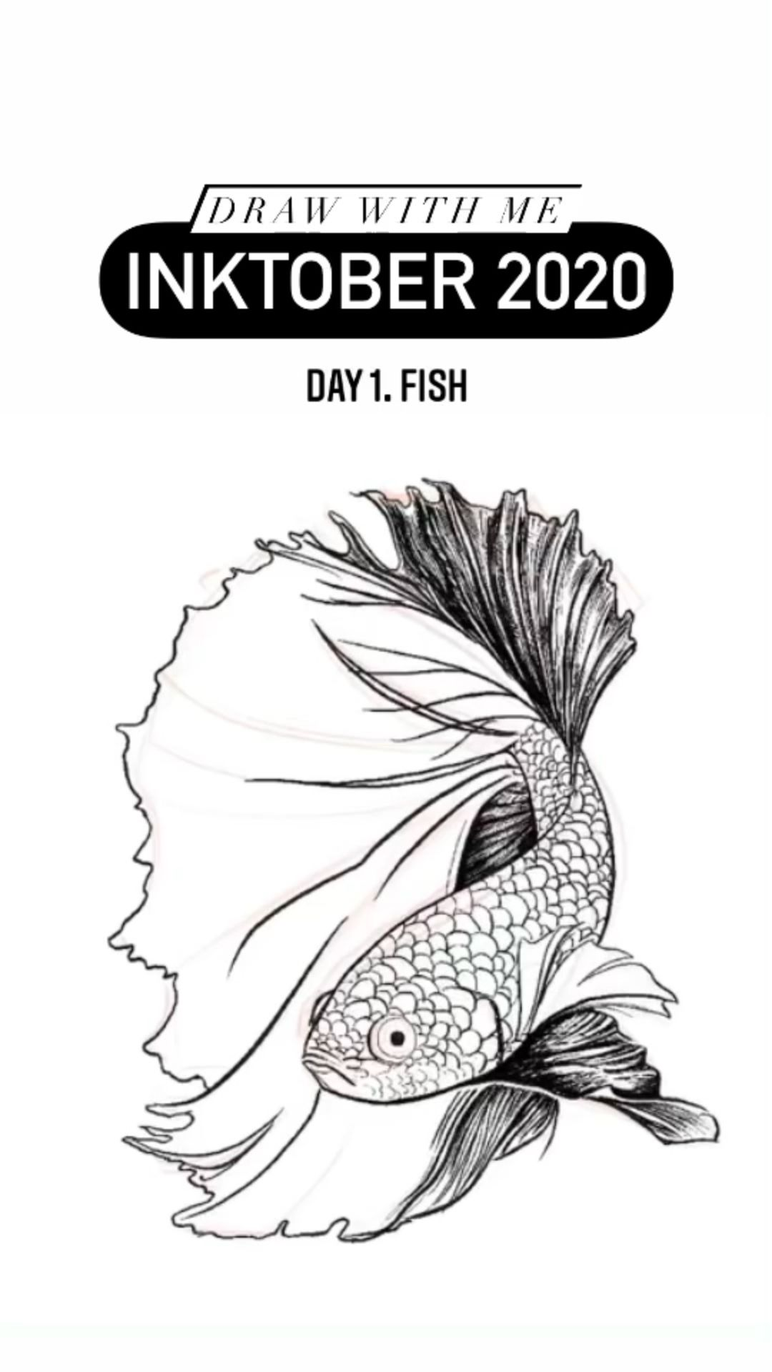 Photo of Inktober 2020 – Day 1. Fish