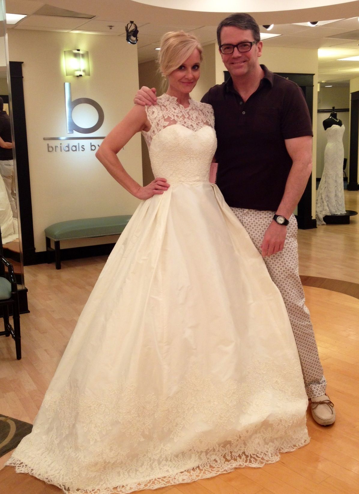 Robin gibbs judd waddell favorite designer and favorite for Wedding dress in atlanta