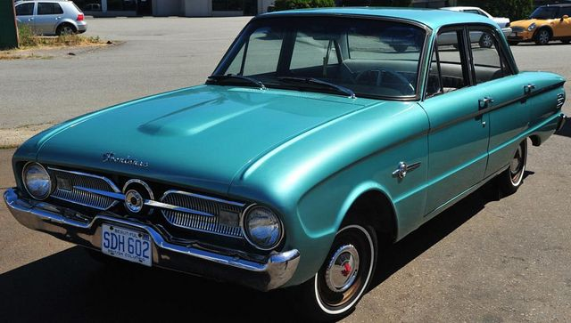1960 Ford Frontenac 4 Door Sedan Frontenac Vintage Muscle Cars Ford America