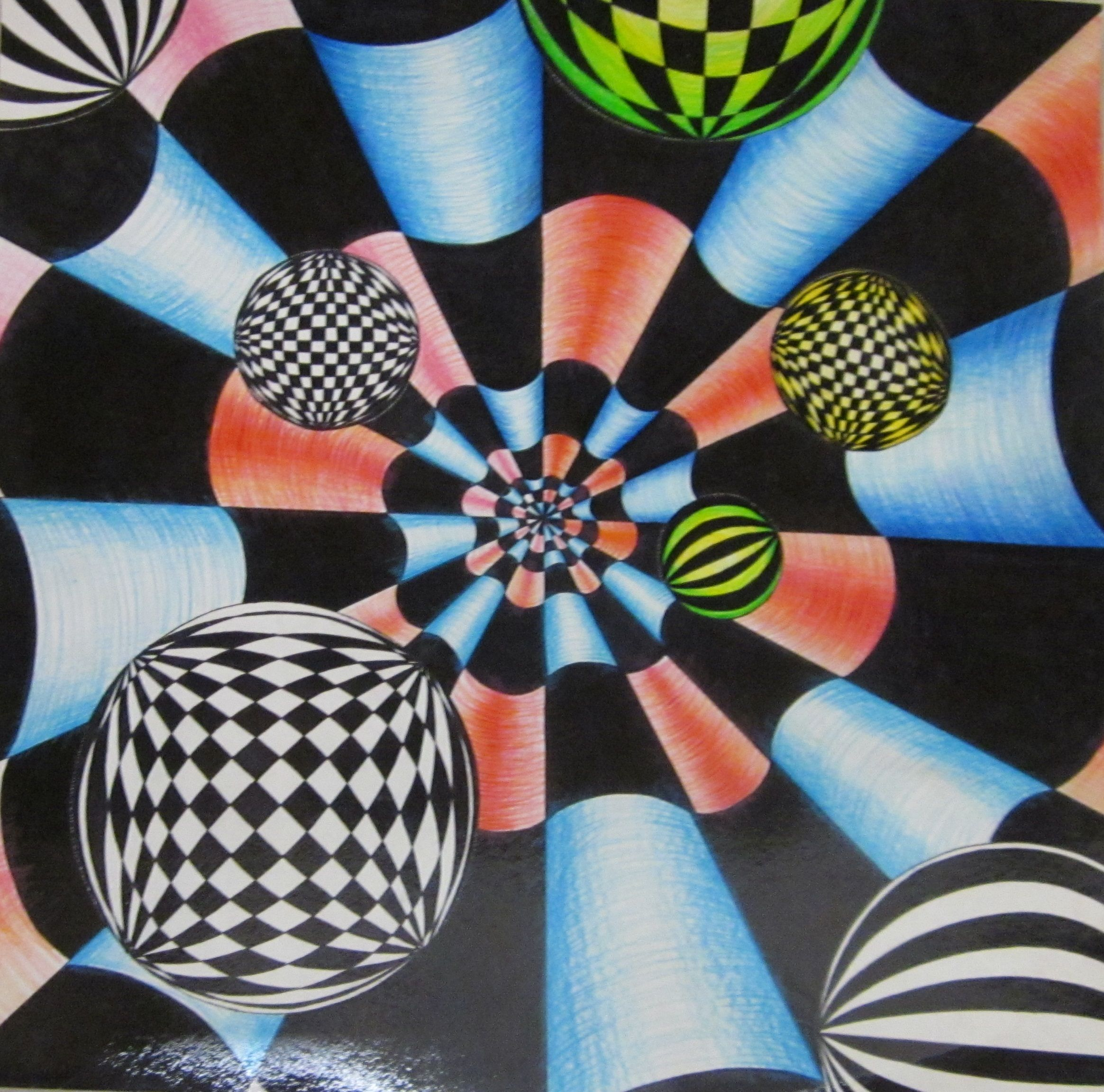 Op Art Design 7th Grade Lesson