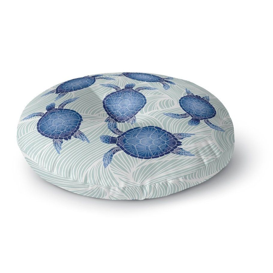 Turtle Floor Pillow By Kavka Designs