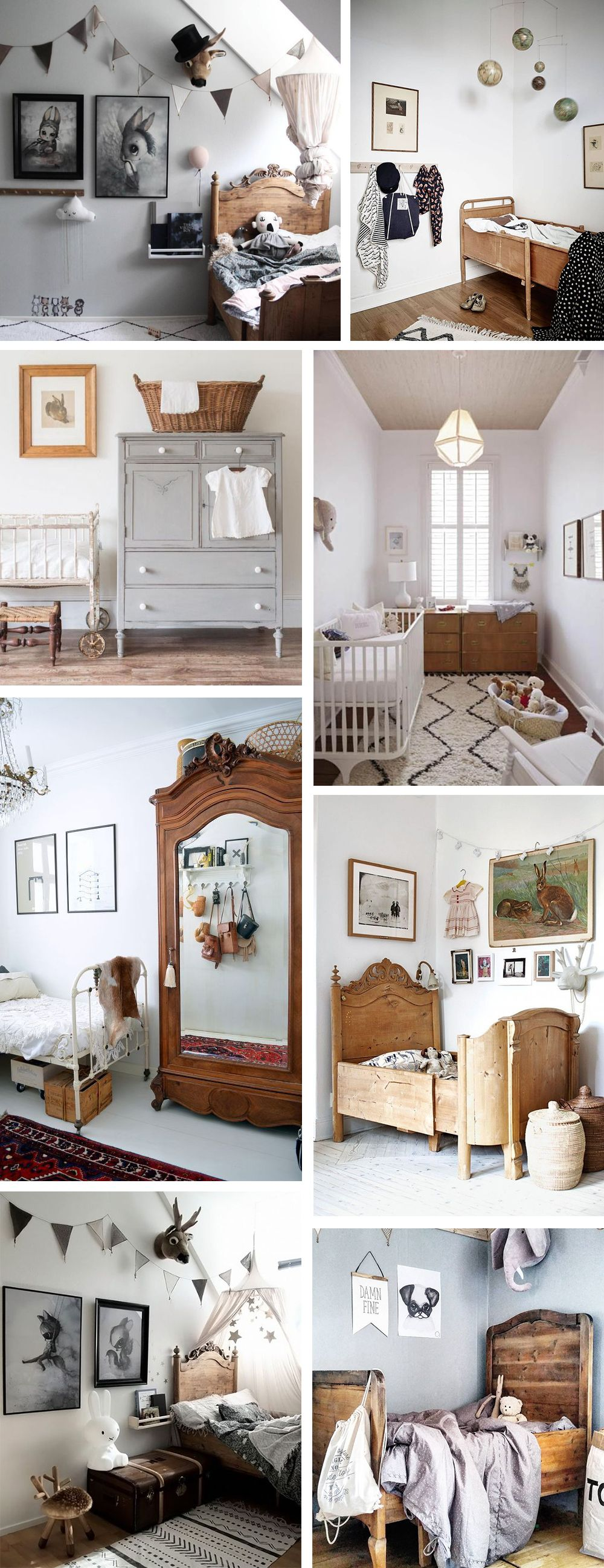 The ethical made vintage kids room images