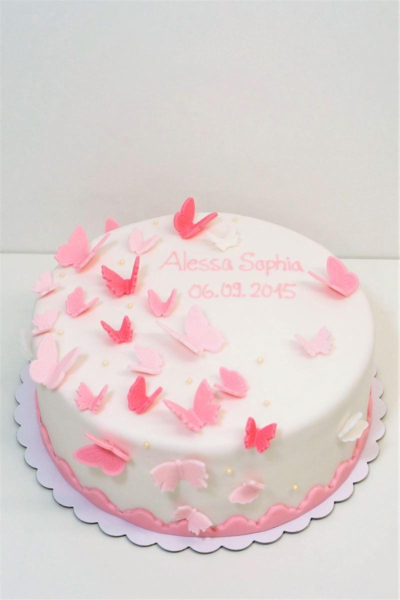 Taufe Torte Kreuz Madchen Rosa Blumen Taufe Kuchen Taufe Kuchen Madchen Torte Taufe