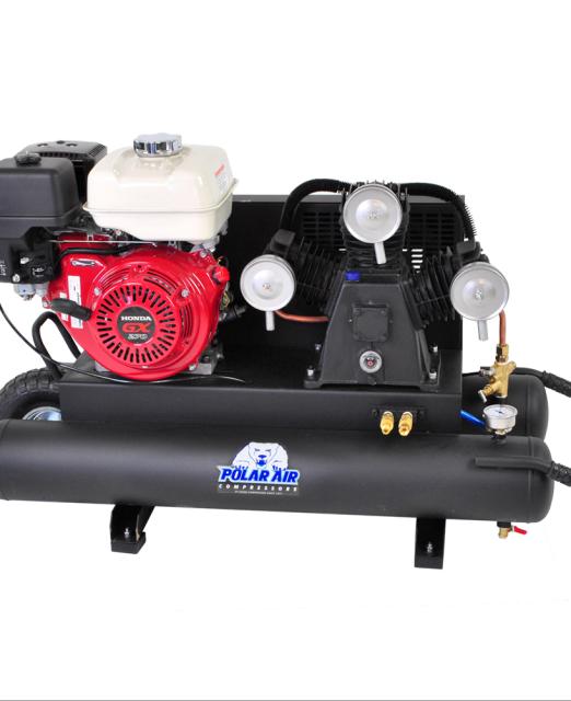 Commercial Grade 9 HP Honda Gas Powered Air compressor