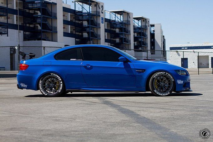 Santorini Blue Bmw E92 M3 Is Here To Take You Down With Images