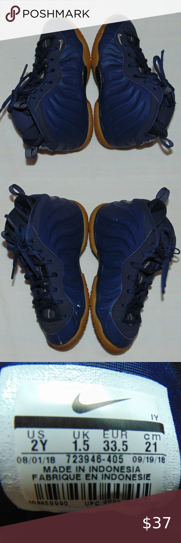 Nike Foamposites One Orange Blue Nike air shoes Air ...