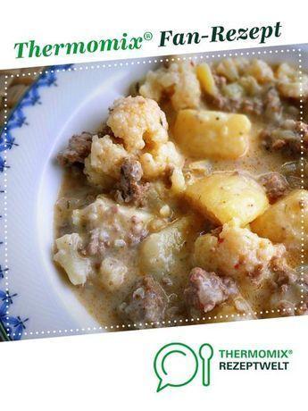 Blumenkohl-Hackfleisch-Eintopf von rubeush. Ein Thermomix ® Rezept aus der Kategorie Hauptgerichte mit Fleisch auf , der Thermomix ® Community.Blumenkohl-Hackfleisch-Eintopf von rubeush. Ein Thermomix ® Rezept aus der Kategorie Hauptgerichte mit Fleisch auf , der Thermomix ® Community.