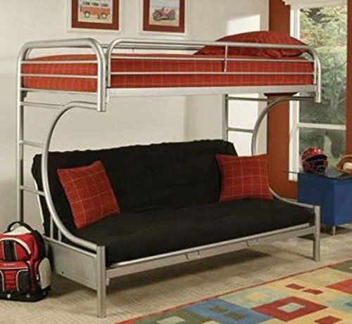 Pin By Melissa Pickens On Boys Room Futon Bunk Bed Bunk Beds Bed