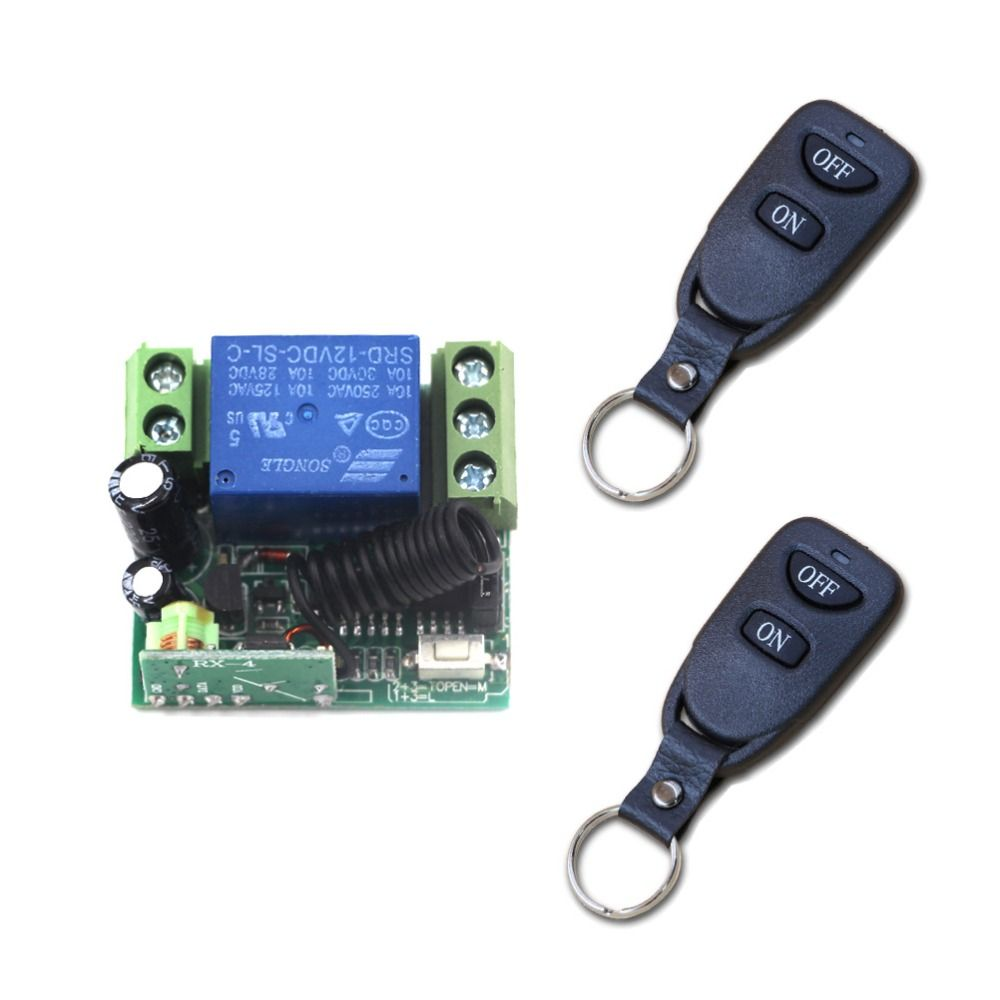 Smart Home Light Switch DC 12V Mini Relay 1CH Wireless RF