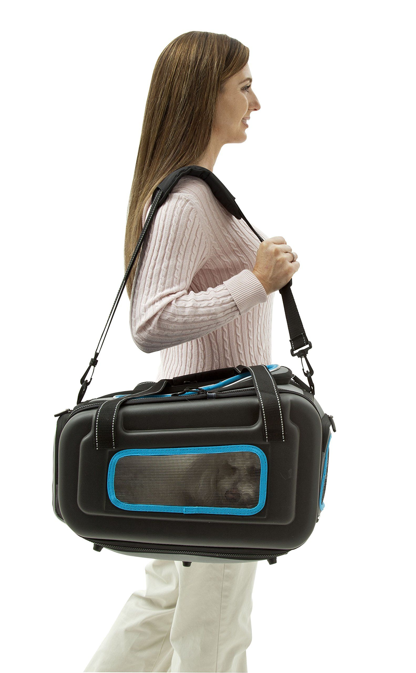 PET LIFE StowAway Airline Approved Ergonomically designed