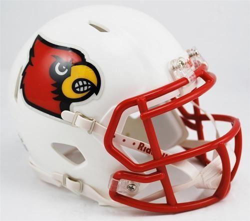 Louisville Cardinals Mini Riddell Speed Football Helmet Football Helmets Louisville Cardinals Louisville Cardinals Football