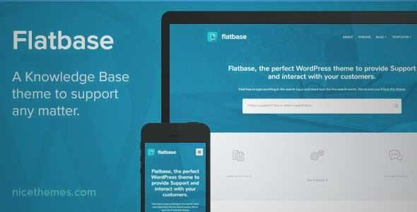 Download and review of Flatbase - A responsive Knowledge Base/Wiki ...