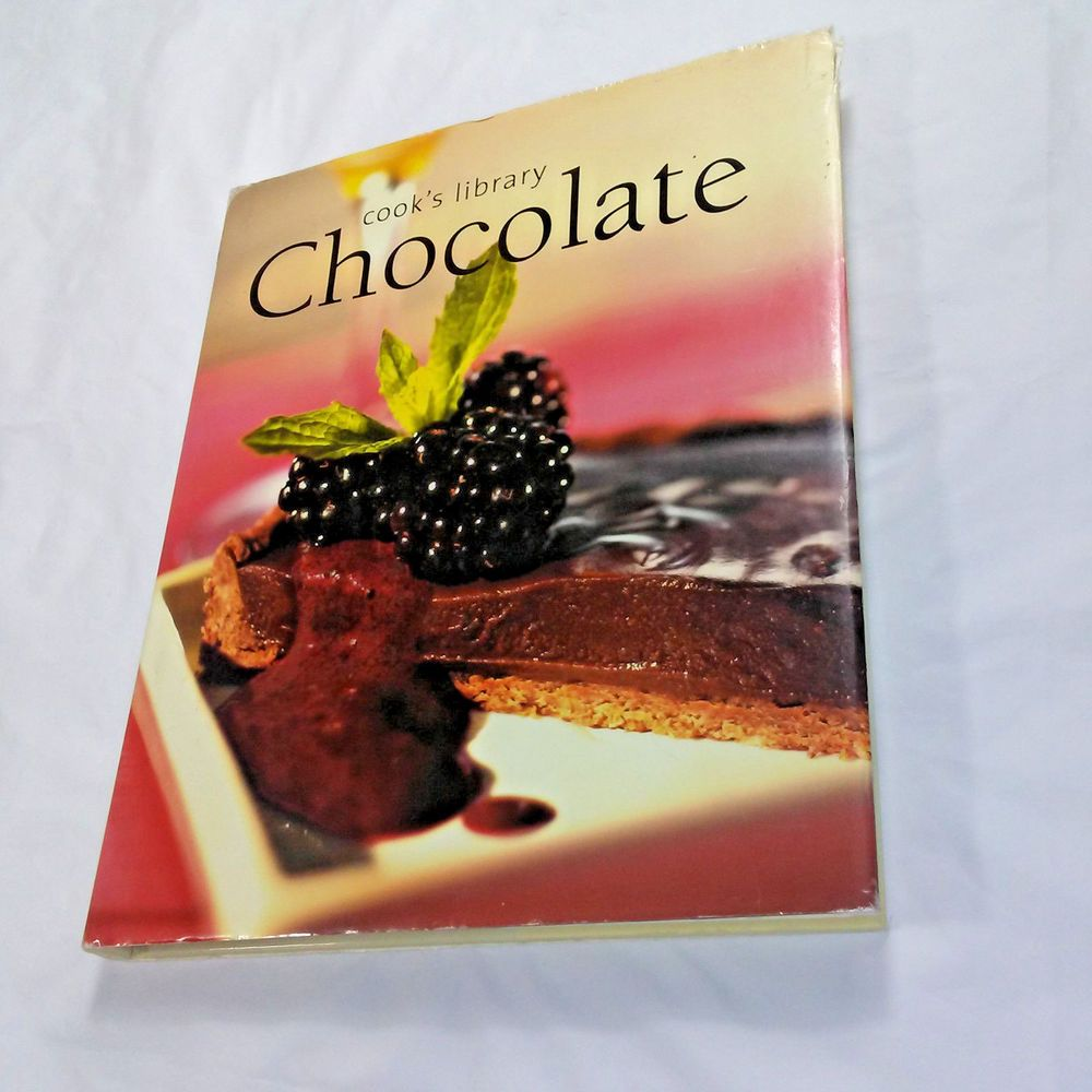 Cook S Library Chocolate Cookbook Book Cookies Candies Cakes Desserts Hot Cold Cooking Cooking Supplies Chocolate