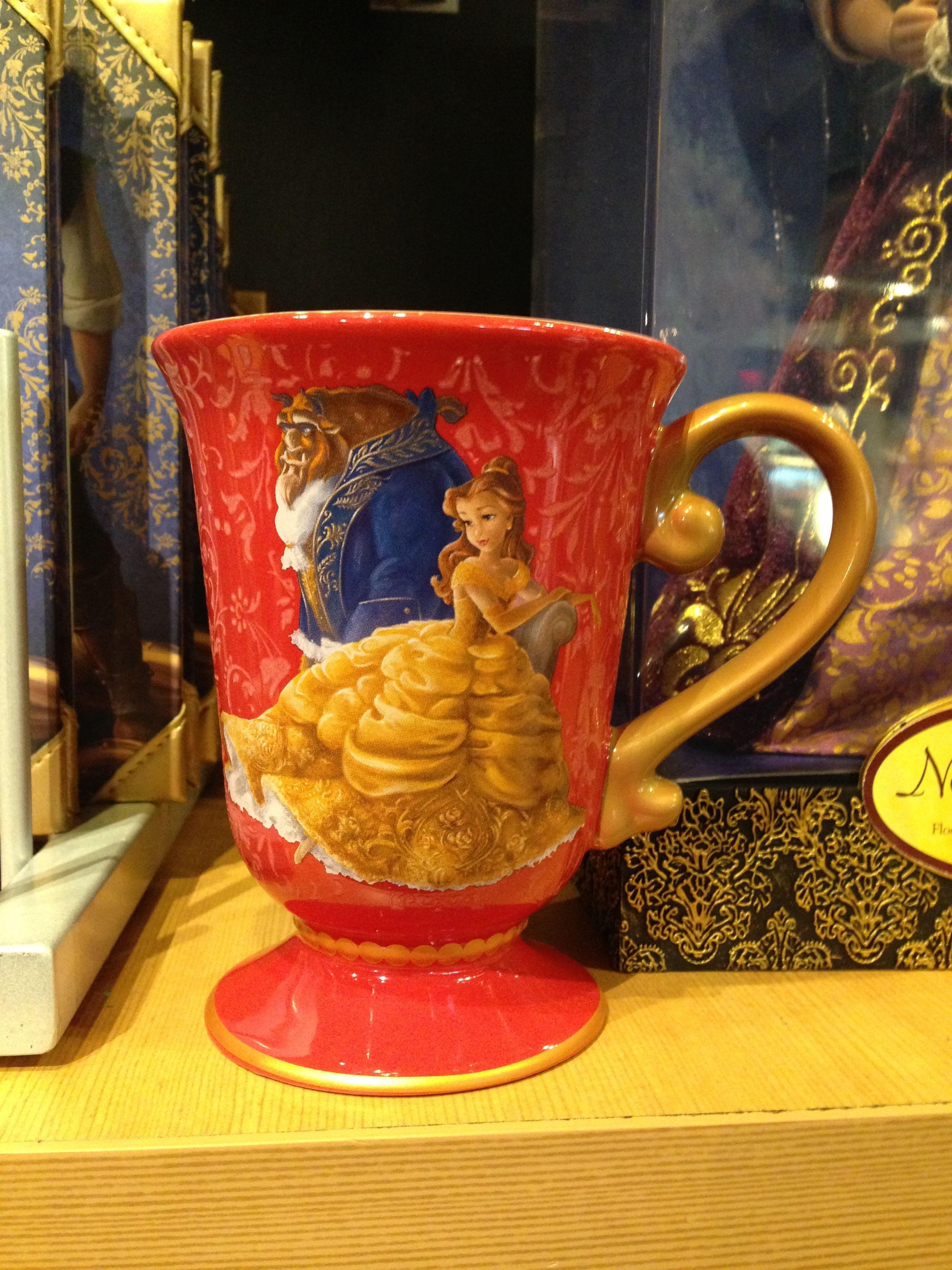 Designer Cups And Mugs Disney Fairytale Designer Collection Beauty And The Beast