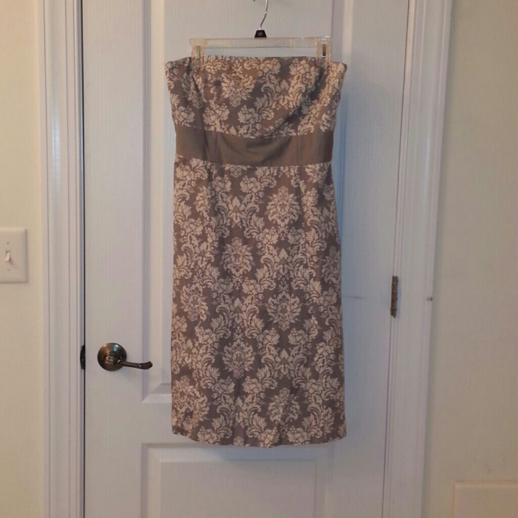 Ann Taylor Loft Strapless Dress | Ann taylor loft and Products