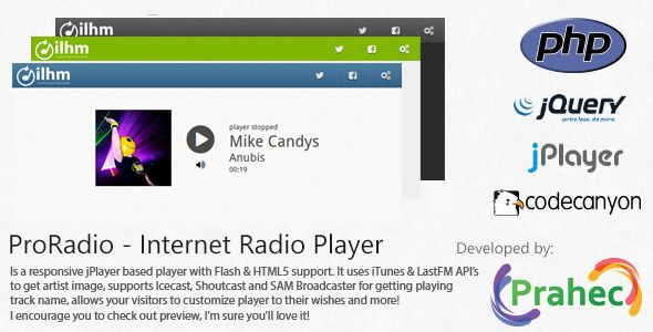ProRadio Internet Radio Player Free Down… | PHP Scripts