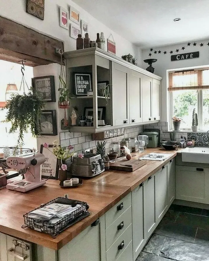 48 best kitchen countertop ideas for any kitchens types of kitchen counters 54 with images on farmhouse kitchen decor countertop id=73280