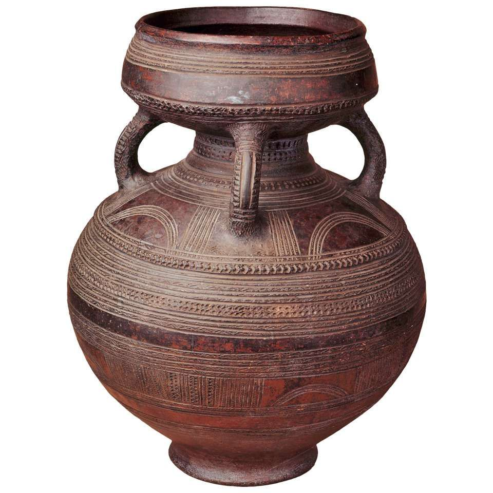 Magnificent African Ceramic Pot Nigeria African Pottery History Of Ceramics African Art