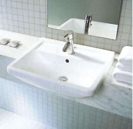 duravit starck 3 semi recessed basin home pinterest. Black Bedroom Furniture Sets. Home Design Ideas