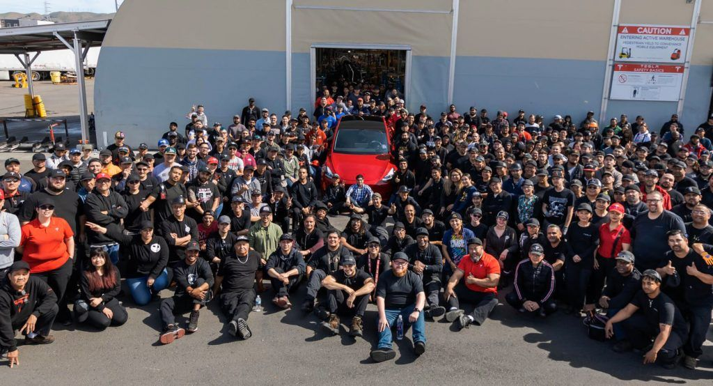 Tesla Celebrates Milestone As Its 1 Millionth Car Rolls Off The Assembly Line | Carscoops