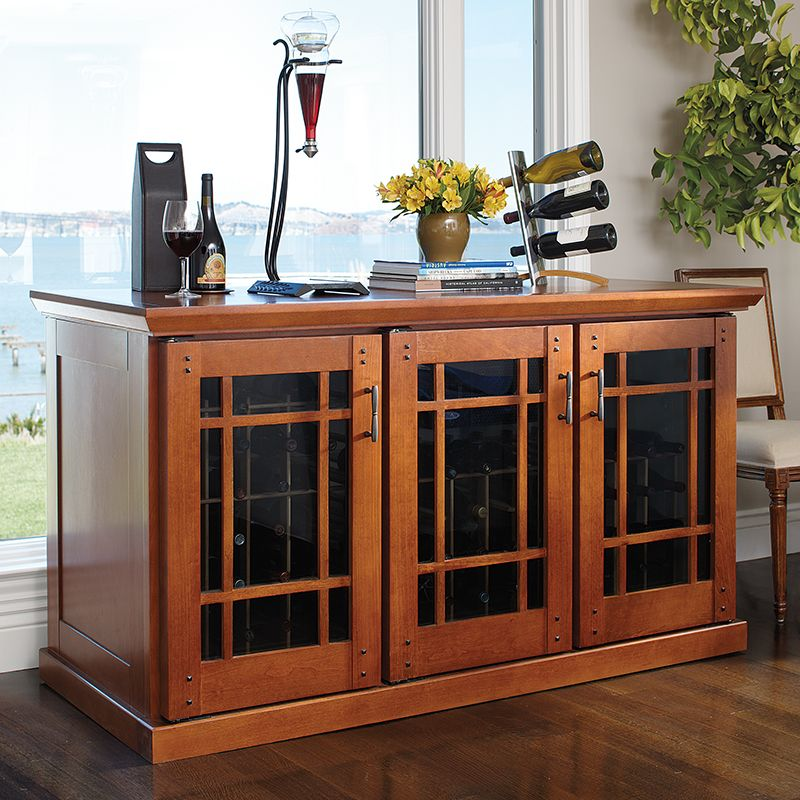 Le Cache Wine Credenza Mission 878 Wine Cabinet Furniture Wine