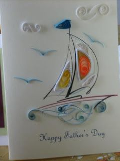 Quilling art and expression fathers day sailboat card craft patterns also edgar mucino edgarghosts on pinterest rh